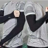 Manset tangan outdoor Korea Lets Slim Aqua X Cool - beige