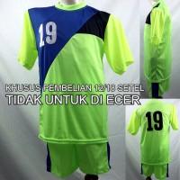 Setelan Baju/Kaos Sepak Bola/Futsal Team/Tim Anak Hijau 2