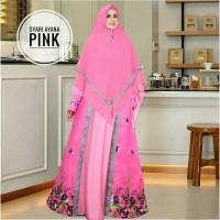 Gamis Ayana Jumbo Busui Maxi Dress Syari Muslimah Big Size Terkini