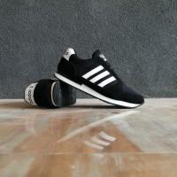 sepatu sport adidas neo city racer hitam putih