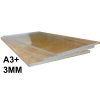 Acrylic Transparan 3mm A3+ / akrilik bening