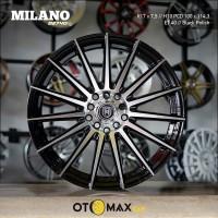 Velg Mobil Milano (2740) Ring 17 Black Polish