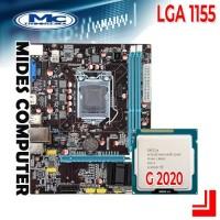 Motherboard 1155 H61 + Processor Intel G2020
