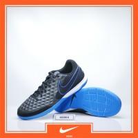 Sepatu Futsal Nike Legend 8 Academy IC Black Blue Original Nike Tiempo
