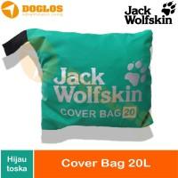 Rain Cover Bag Daypack 20 L JWS Jack Wolfskin tas ransel