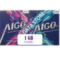 Voucher Axis MINI Aigo 1 GB 5 Hari 24 JAM
