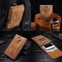 Holster Cover Belt Bag With 13 Slot Card Samsung Galaxy J5 J7 Prime