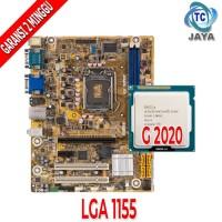 Paket MAINBOARD Intel LGA 1155 Dengan PROCESSOR Celeron G2020
