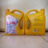 Oli Mesin Shell Helix HX6 SAE 10W-40 API SN PLUS Kemasan 4 Liter