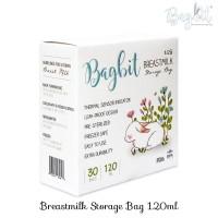 Bagbit BreastMilk Storage Bag 120 ml / Kantong Asi / Plastik Asi