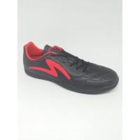sepatu pria sepatu futsal specs original RICCO hitam / merah terbaru