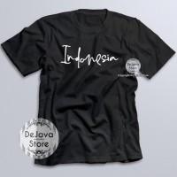 Kaos Distro Indonesia Latin Baju Kemerdekaan Agustus Unisex Premium