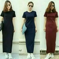 dress elsa plain/dress wanita/atasan wanita/baju eanita