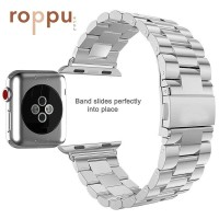 Roppu Stainless Steel Replacement Strap Apple Watch series 1/2/3/4