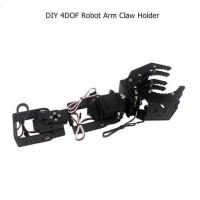 DIY 4DOF Robot Arm Claw Holder With Arduino