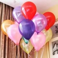 Balon Latex Metalic / Lateks Metalik