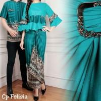 New Baju Batik Cauple KB CP FELISIA BAJU COUPLE PRIA WANITA DEWASA
