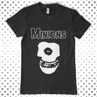 Kaos Kartun Cotton Combad Original Minions - Minions Misfit - S