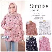 kemeja baju muslim atasan blouse bluss tunik wanita muslimah pantai