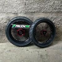 Wheelset CRF 150 L Supermoto - Paket Ban 17 300 & 350 Semi Enduro