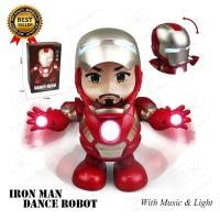 Avenger Iron Man Smart Dance Robot Super Hero No.LD155A