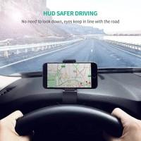 Car Holder Phone Handphone Jepit HP GPS Di Dashboard Mobil