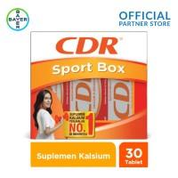 Sport Pack (CDR Suplemen Kalsium Rasa Fruit Punch 10 Tablet x 3 unit)