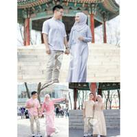 COUPLE MAYUKI / BAJU COUPLE KOREA / COUPLE MUSLIM / BAJU COUPLE PESTA