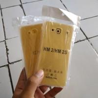 Anticrack Soft Bening Xiaomi Redmi 2 Jelly Case Cover Murah Anti Shock