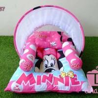 kado baby girl kasur bayi kelambu karakter minie / mickey mouse