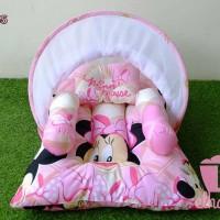 kado bayi baru lahir cewek set kasur bayi karakter mickey / mini mouse