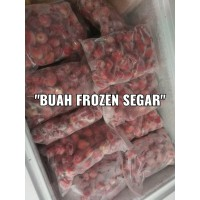 Buah Frozen/Frozen Fruit/Buah Beku/Strawberry Beku Frozen 1/2 Kg