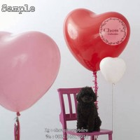 Balon Latex Love / Balon Karet Bentuk Hati Jumbo