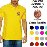 Serbu Polo Shirt Sriwijaya Fc Official 2018 2019