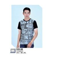 Baju Kaos Pria Azzura original/kaos distro modern/kaos trendi termurah