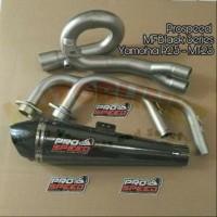 Knalpot Yamaha R25 - MT25 Prospeed MF Black Series Full Syst UjL607
