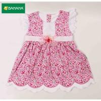 BANANA Baju Bayi perempuan Dress bunga renda
