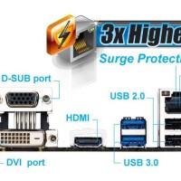 Mainboard Gigabyte GA-78LMT-USB3 Socket AM3 / AM3+ MURAH