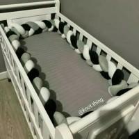 bumper bantal kepang panjang | bantal sisi baby box