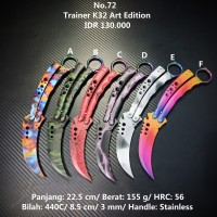 Balisong Trainer CSGO CS GO K32 Art Edition