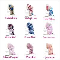 Kerudung segiempat MOTIF 5 / Hijab / Jilbab / Square / souvenir
