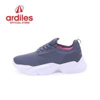 Ardiles Women Pepino Sepatu Running - Abu Abu