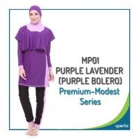 BAJU RENANG MUSLIMAH SPORTE MP-01 PURPLE LAVENDER