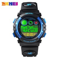 Jam Tangan Anak Digital SKMEI 1451 BK/BLUE Water resistant 30m