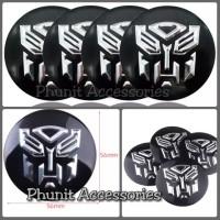 emblem sticker bulat transformers autobot mobil motor
