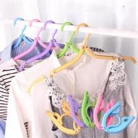 Gantungan Baju Lipat, Hanger Lipat, Portable Hanger Traveling