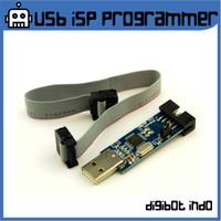 USB ISP Programmer untuk ATMEL, AVR, ATTiny