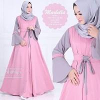 Baju Muslimah Terbaru/Gamis Shofiya Marbella/Gamis Busui Terlaris 2019