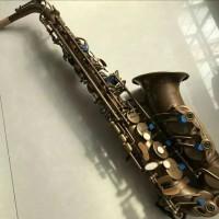saxophone alto selmer mark IV perunggu