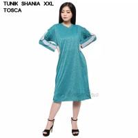 Baju Tunik Atasan XXL Jumbo Murah Wanita Muslim Kekinian Shania - Turkish, XXL